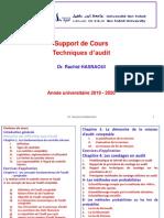 Cours Techniques d'audit- chap 2 fondamentaux de l'audit comptable (1)