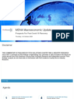 MENA Macroeconomic Update October 2020