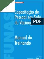 Capacitação de Pessoal de Sala de Vacinação  ed. Funasa