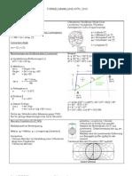 Atpl - Pilot - Formulas German