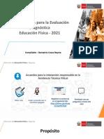 Evaluación Diagnostica Area-Educacion Fisica Ccesa007
