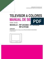 manual tv lg rp20cb60