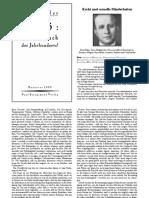 """""""Die Schmach des Jahrhunderts"""" (Kurt Hiller)"""
