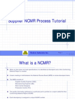 NCMR Process Tutorial