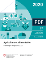 Agriculture et alimentation 2020 OFS