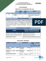 12 Acta de Resultados de La Revision Por La Alta Dirección 2020 (1)