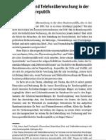Foschepoth, Josef - Postzensur und Telefonüberwachung in der alten Bundesrepublik (2014, Orig.)