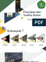 Penyajian dan Analisa Kekar_KELOMPOK 7 TP