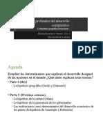 2. Determinantes Profundos Del Desarrollo Comparativo - Geografia 2021-1[6752]