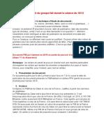 correction étude de documents sur le PIB et la croissance