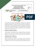 GUIA # 6 UNA SOCIEDAD DIVERSA