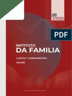 Cursos online INstituto da Familia 2021
