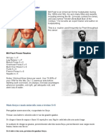 Bill Pearl Routine for Big Gains