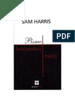 Sam Harris-Pismo kršćanskoj naciji