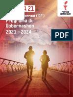 Partido Democraat ('DP') Programa di Gobernashon 2021 – 2024