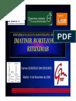 Imatinib Bortezomib y Rituximab - C Gonzalez Sansegundo