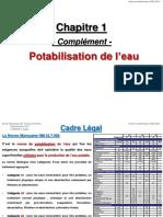 2- Potabilisation de l'Eau
