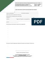 Anexo N°2 Declaracion Director Técnico v_02.2017