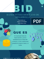 BID - Relaciones Internacionales