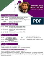 CV Benyaiche Formateur JCI