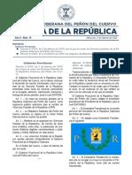 Gaceta de la República - Nº 10