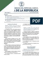 Gaceta de la República - Nº 15