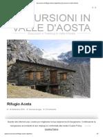 Escursione al Rifugio Aosta (Valpelline) _ Escursioni in Valle d'Aosta