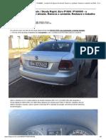 VW Polo _ Skoda Rapid. Erro P1609 _ P160900 - o sistema de disparo foi ativado. Remova o acidente. Restaure o trabalho do ERM
