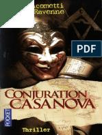 Giacometti Eric - Commissaire Antoine Marcas 03. Conjuration Casanova