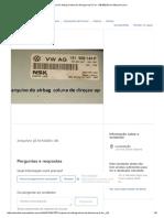 Arquivo Do Airbag Coluna Da Direçao Up E Fox - R$ 800,00 em Mercado Livre