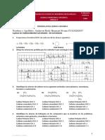Actividad  N°5   Primera Parte Taller química orgánica nomenclatura