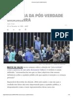 A Semana Da Pós-Verdade Brasileira