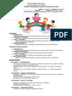 GUIA INTEGRADA DE MATEMÁTICAS, CIENCIAS NATURALES, ÉTICA Y EDU. FÍSICA - SEMANA DEL 8 AL 19 DE MARZO (1) (1)