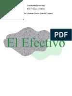asignacion #1 EL EFECTIVO
