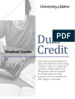 Dual Credit Student Guide
