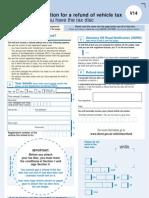 DVLA Refund Application