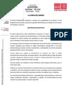 Moción PSOE Antiterapias