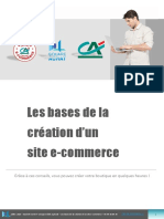 Bases de La Creation D-un Site E-commerce