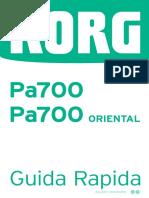 Pa700 Guida Rapida v15 I