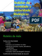 1. Medidas de Diversidade Biológica