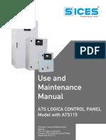 ATS115_220440_USER MANUAL_LOGICA CONTROL PANEL_Rev01_EN