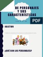 descripcion fisica y sicologica de personajes