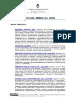 Reforma Judicial 2020