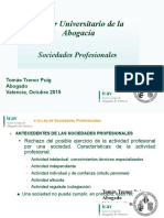 Sociedades Profesionales (M†ster Abogac°a UV-ICAV)