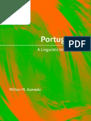 Portuguese_ A Linguistic Introduction - Milton Mariano Azevedo |  Grammatical Tense | Verb