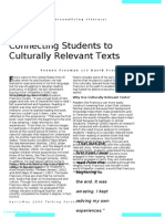 connecting students to culturally relevant texts