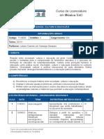 Plano de disciplina EaD - Sociedade, Cultura e Educação.docx