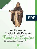 AS PROVAS DA EXISTENCIA DE DEUS - TOMÁS DE AQUINO
