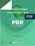 Plano de Recuperção e Resiliência - Consulta Publica