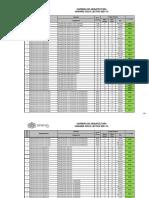HORARIOS CARRERA DE ARQUITECTURA 2021-10